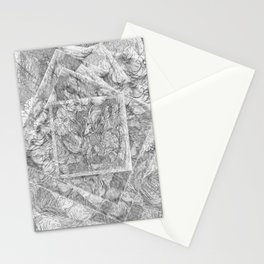 Radial Stationery Cards