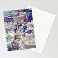 Oia, Santorini, Greece Stationery Cards
