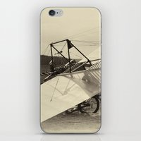 airplane iPhone & iPod Skins featuring Airplane by DistinctyDesign