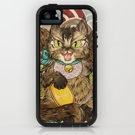 Maine Coon Negora - Lucky Cat iPhone Case