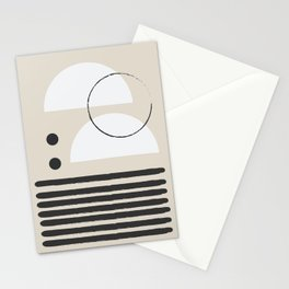 Abstract Modern Art Stationery Cards