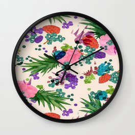 Passion Fruit Wall Clock