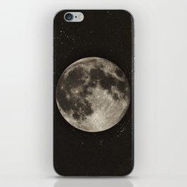 The Moon  [Sans Type] iPhone Skin