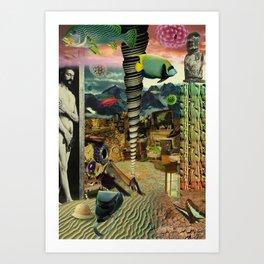 Goods on Earth Art Print