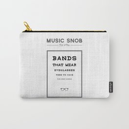 Fourth Eye Blind — Music Snob Tip #20/20 Carry-All Pouch