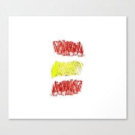 Flag of spain 8-spain,espana, spanish,plus ultra,espanol,Castellano,Madrid,Barcelona Canvas Print