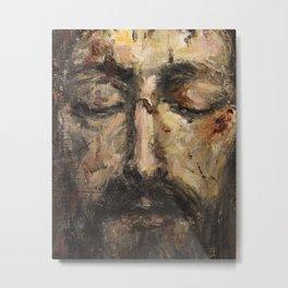 Holy Face Metal Print
