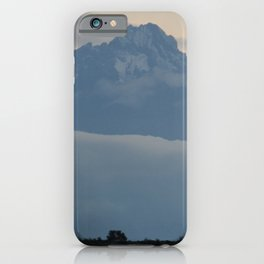 Mount Kenya iPhone Case