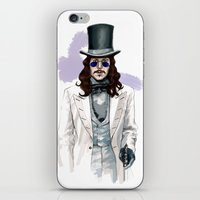 dracula iPhone & iPod Skins featuring Dracula by Myrtle Quillamor