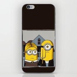 Minion Gothic iPhone Skin