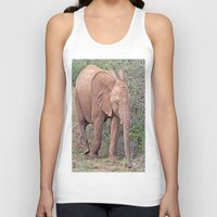 baby elephant Tank Tops featuring Baby Elephant by Lynn Bolt