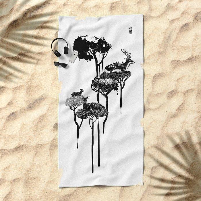 Deer to Dream Beach Towel