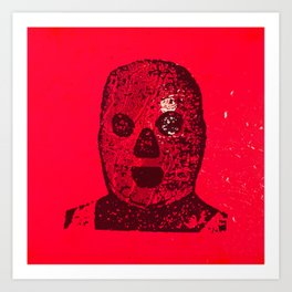 Meatface Art Print