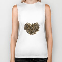 Dried and curled leaves of Oolong Biker Tank