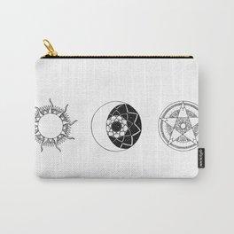 Sun Moon Star Mandalas Carry-All Pouch