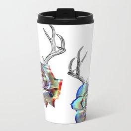 TROPHIES AND ROSES Metal Travel Mug