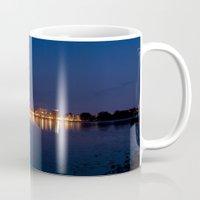 skyline Mugs featuring Skyline by LainPhotography