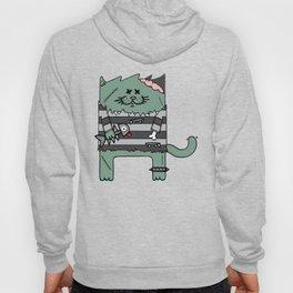 Zombie cat Hoody