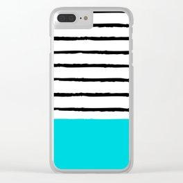 Beach Weekend Clear iPhone Case