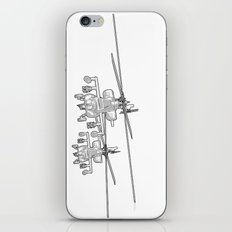 Apache's flying Toon Render iPhone & iPod Skin