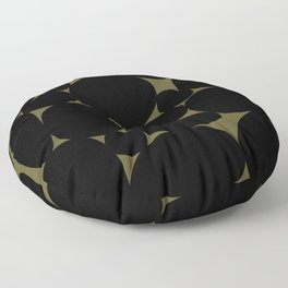 Stone Abstract - Earth Green Floor Pillow