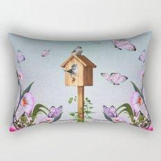 Sweet little birds Rectangular Pillow