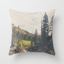 into the wild ...  Throw Pillow