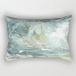 Cushion me soft, rock me billowy drowse, Dash me with amorous wet. Rectangular Pillow