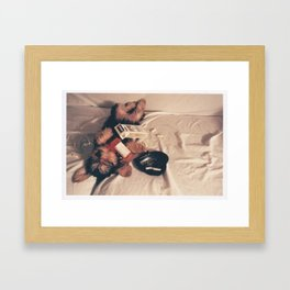 Gigi Framed Art Print