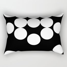 The falling beads Rectangular Pillow