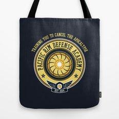 Pacific Rim Defense Academy Tote Bag