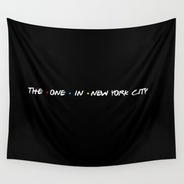 the one in new york city Wall Tapestry