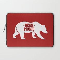 Bear Silhouette  Laptop Sleeve