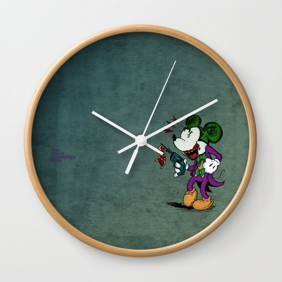 Why So Serious?  Wall Clock