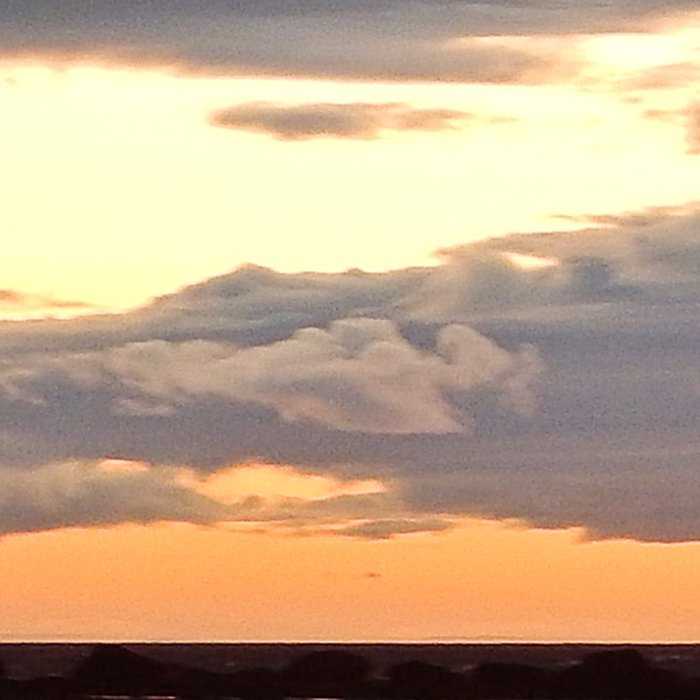Sunset on the St-Lawrence Leggings