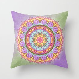 Whisper of Grace Throw Pillow