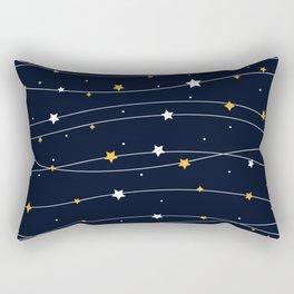 Sparkling stars Rectangular Pillow