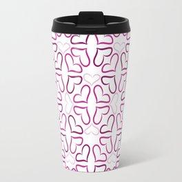 Heart Mandala Travel Mug
