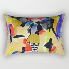 Urban Lights Rectangular Pillow