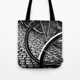 Squares And Circles Tote Bag