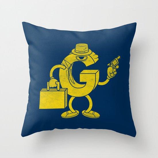 G-Man Throw Pillow