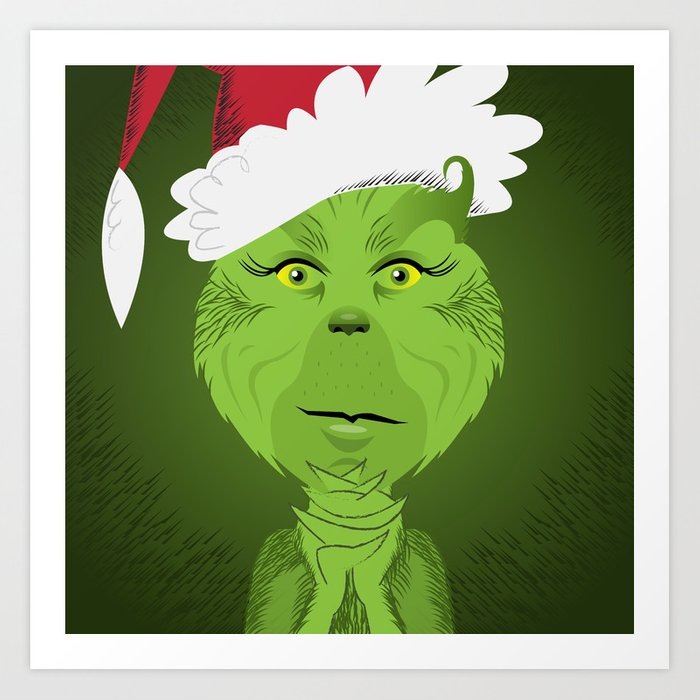 How The Grinch Stole Christmas Art Print By Brettmatic