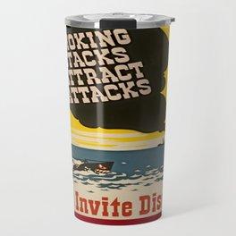 Vintage Naval Poster Travel Mug