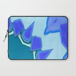Jagged Tooth Teal Laptop Sleeve