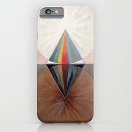 Hilma af Klint Group IX/SUW The Swan No. 12 iPhone Case