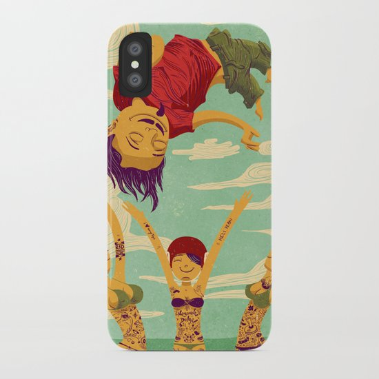 Tapete Voador iPhone Case