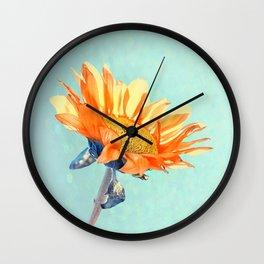 Sunflower Daze Wall Clock
