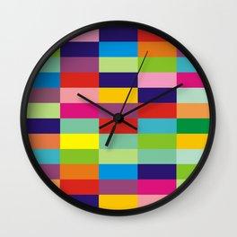 Color block no.3 Wall Clock