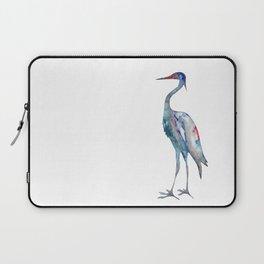 Crane #1 - Ink painting Laptop Sleeve