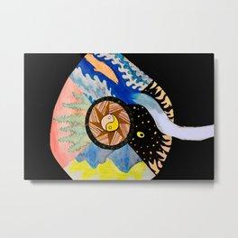 Earth, Wind and Sea Metal Print